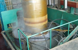 Quenching roller